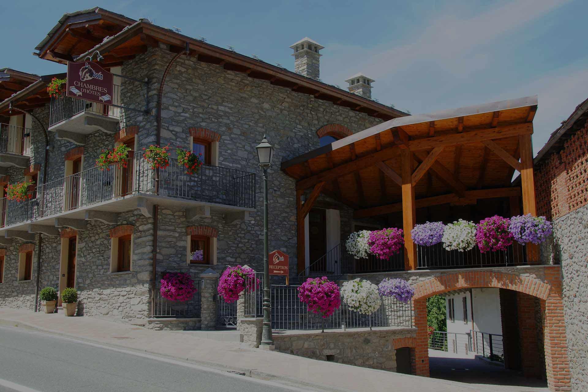 b&b Aosta Lo teisson